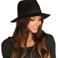 Black Fall Panama Hat