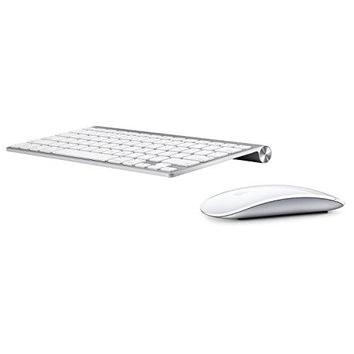 Apple Wireless Keyboard with Apple Magic Bluetooth Mouse (Certified Refurbished)