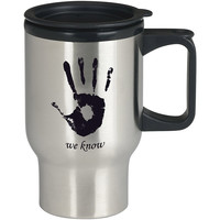 Skyrim Dark Brotherhood We Know For Stainless Travel Mug *