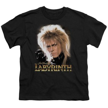 Labyrinth - Jareth Short Sleeve Youth 18/1 Shirt Officially Licensed T-Shirt