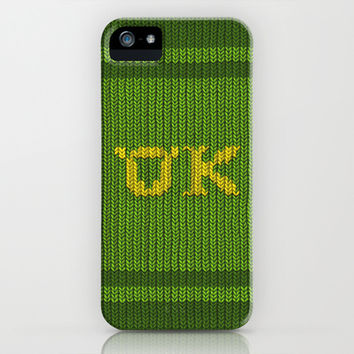 Oozma-Kappa sweater. iPhone & iPod Case by Emiliano Morciano (Ateyo)