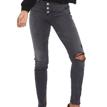 Silver Jeans Robson High Rise Black Jegging