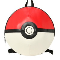 Pokemon Poke Ball 3D Backpack