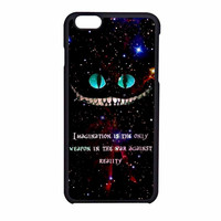 Alice In Wonderland Cheshire Cat Quote iPhone 6 Case