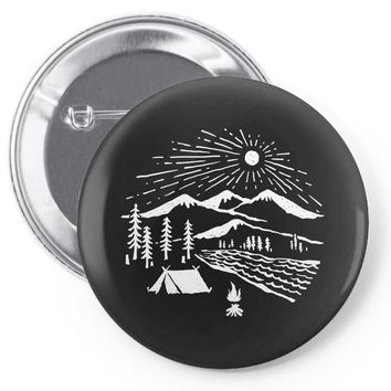 wilderness Pin-back button
