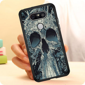 Abstract Skulls Artwork LG G5 Case Planetscase.com