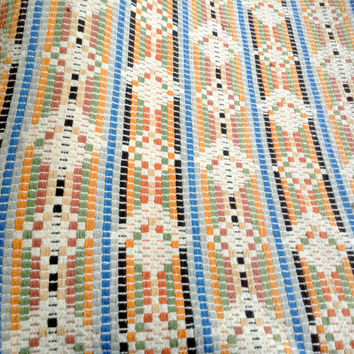 Woven Fabric Material - Colorful Design - 3 Square Yards -
