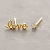 Love Spark Studs by Anthropologie Gold One Size Jewelry