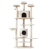 Cat Tree 80 Inch Condo Furniture Scratching Post