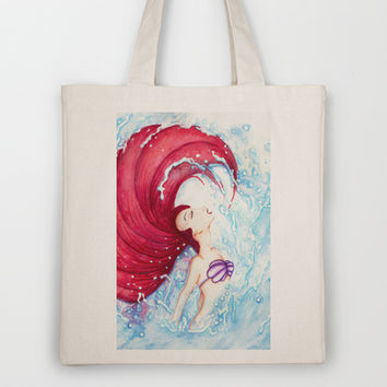 Ariel Tote Bag by Susaleena