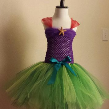 Under the Sea Mermaid Inspired Tutu Dress