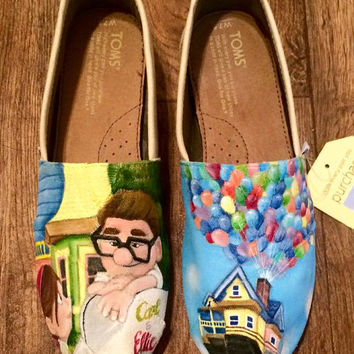Custom Hand Painted Shoes - Disney Pixar Up