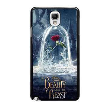 BEAUTY AND THE BEAST ROSE IN GLASS Samsung Galaxy Note 3 Case Cover