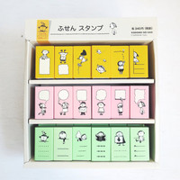 Cute FUSEN Rubber Stamp by Kodomo No Kao