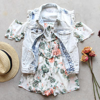 Faded Bloom Romper