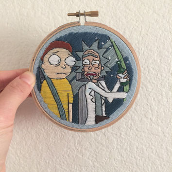 Rick and Morty Stitching / Fan Art #3