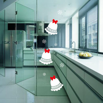 Christmas Decoration Glass Wall Sticker [6284004230]