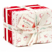 Winter Wonderland by Bunny Hill Designs for Moda, Fat Quarter Bundle