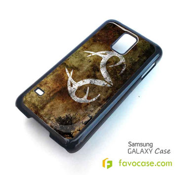 REALTREE DEER CAMO Samsung Galaxy S2 S3 S4 S5, Mini, Note, Tab Case Cover