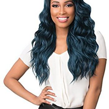 Sensationnel 100% Premium Fiber Empress Free Part Lace Front Edge Wig - KAILYN (613 [Platinum Blonde])