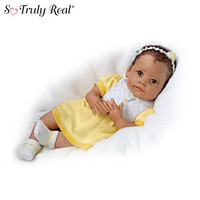 """Ava's Look Of Love"" Touch-Activated Baby Girl Doll"