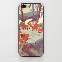 Fisher Fox iPhone & iPod Skin by Teagan White