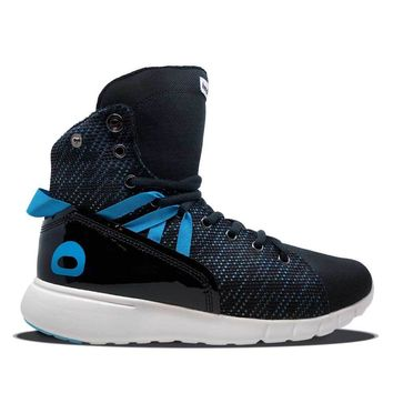 Black/Blue Mission Trainer Bodybuilding Shoes