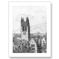 Boston College Gasson Hall Postcard from Zazzle.com