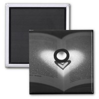 Love Ring and Shadow Heart Magnet