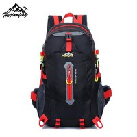 30 - 40L Outdoor Mountaineering Backpack Hiking Camping Waterproof Nylon Travel Bags B1#W21