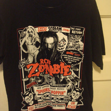 Rob Zombie The Great Zombie Show Limited Medium Shirt