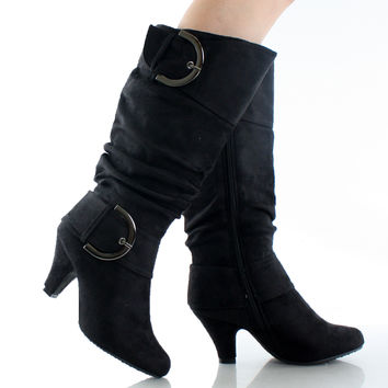 Auto-8 Slouchy Boots