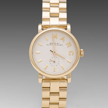 Marc by Marc Jacobs MBM3247 Watch in Gold
