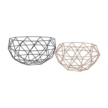 Connect Bowls Black,Rose Gold
