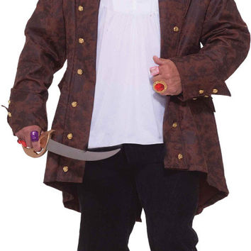 men's costume: pirate captain