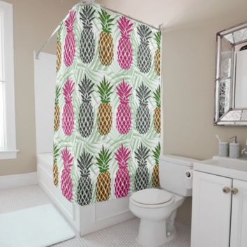 Shower Curtain - Pineapple
