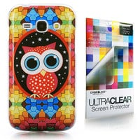 Art of Owl 3333 back cover, Samsung Galaxy Ace 3