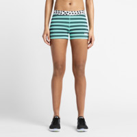 "Nike 3"" Pro Stripes and Dots Women's Training Shorts"