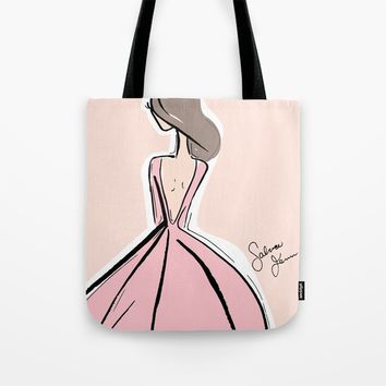 La Belle Fille Tote Bag by Fenn Fashion