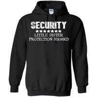 Big Brother Gift Ideas Little Sister Protection Squad Shirt t-shirt