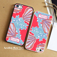 Coralina-Lilly Pulitzer iPhone Case Cover for iPhone 6 6 Plus 5s 5 5c 4s 4 Case