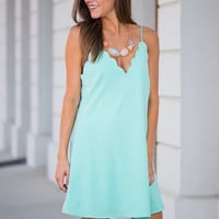 I'm Awe Yours Dress, Mint