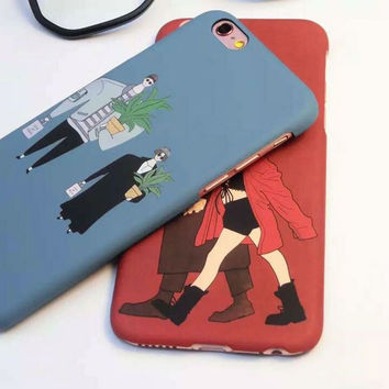 Hot Sale Cute Stylish Hot Deal Iphone 6/6s On Sale Couple Phone Case [4915518532]