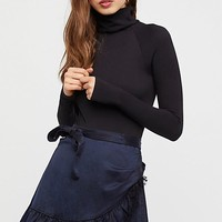 FP One Tuxedo Mini Skirt