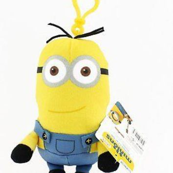 Minions Movie: Kevin Backpack Plush Backpack Clip Keychain