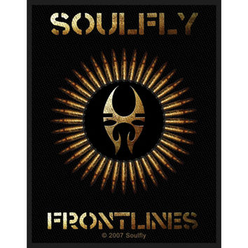 Soulfly Men's Woven Patch Black