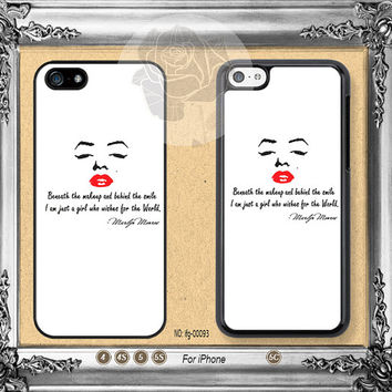 Marilyn Monroe iPhone 5s case, iPhone 5C Case iPhone 5 case, iPhone 4 Case Marilyn Monroe iPhone case Phone case ifg-00093