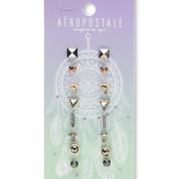 Aeropostale  Dream Catcher Stud Earring 8-Pack