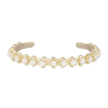 Kendra Scott Raegan Bangle Bracelet in Iridescent White