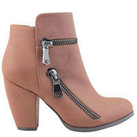 The Meadow Bootie in Whiskey